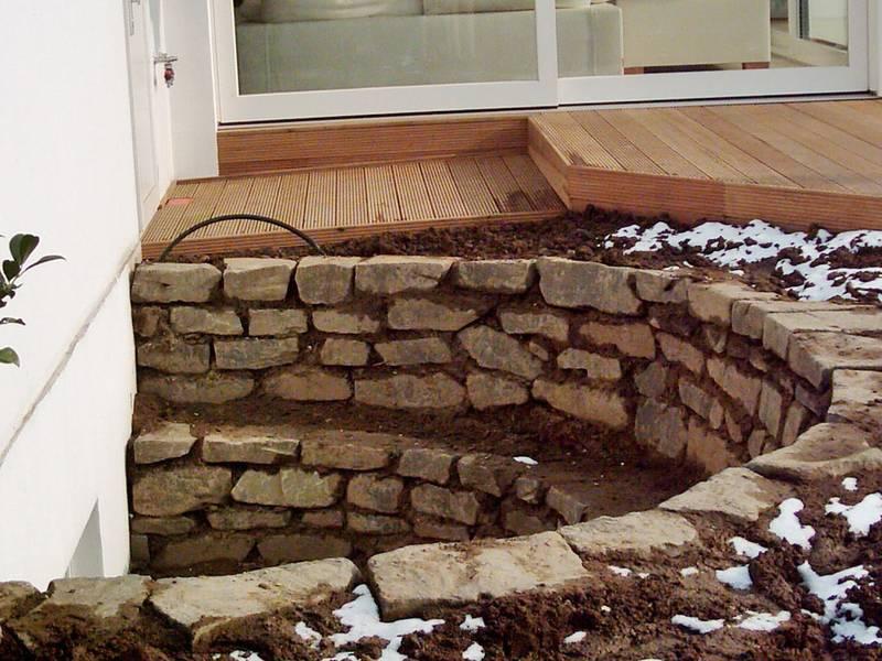 nabbefeld schages garten und landschaftsbau lichtschachtmauer. Black Bedroom Furniture Sets. Home Design Ideas